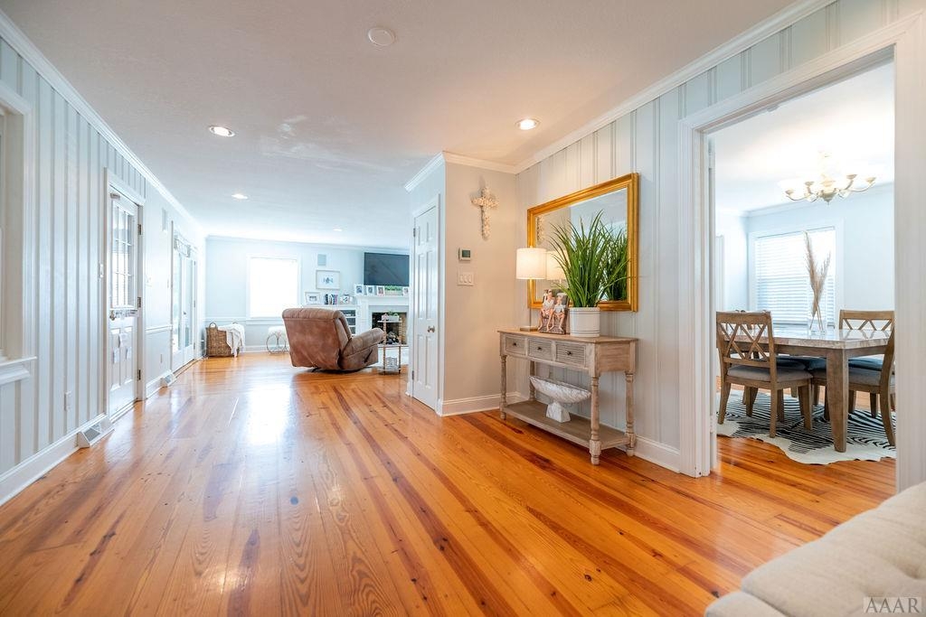 HEART PINE FLOORS throughout!