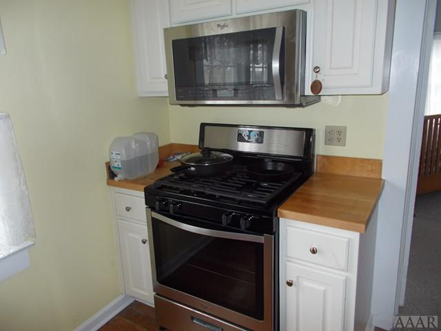 Stove/Microwave--Stainless Steel