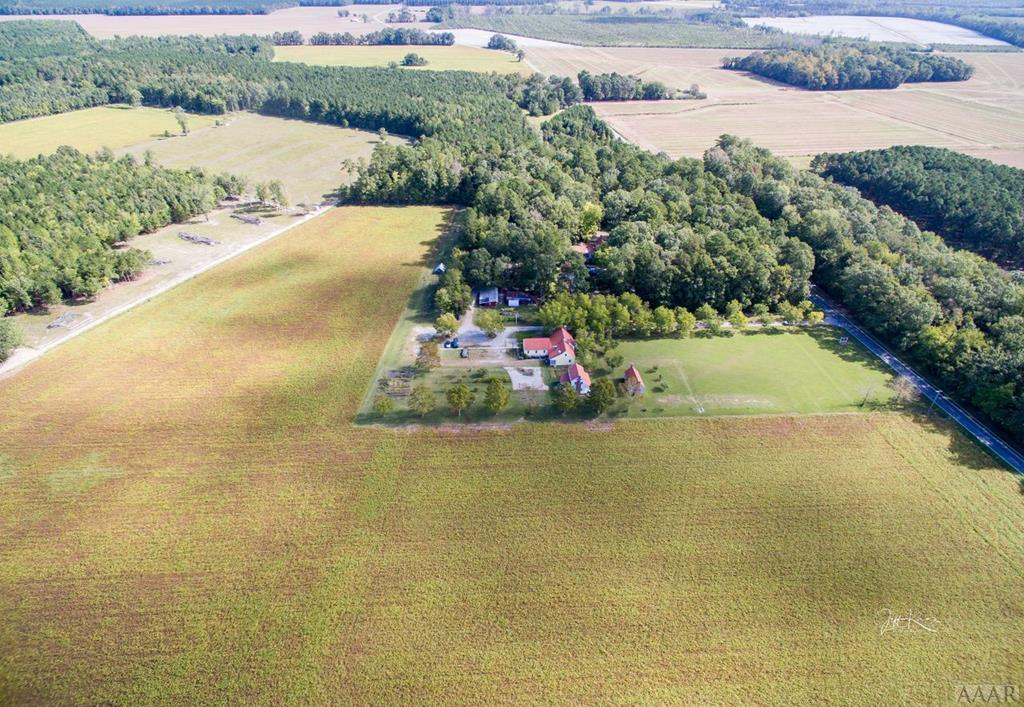 AERIAL PHOTO of 3.3 Acres with Restaurant and Home