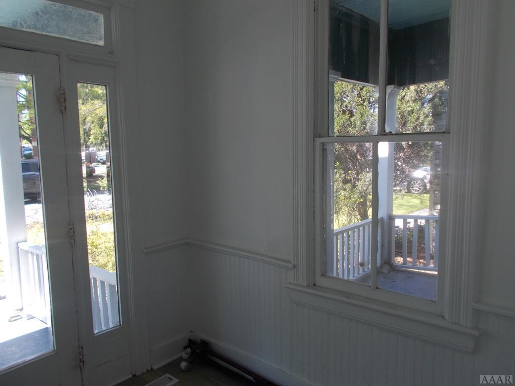 View of Front Porch from Foyer